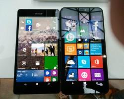 Сравнение размеров Lumia 950 XL с Lumia 920, Lumia 640, Lumia 640 XL и Lumia 1520