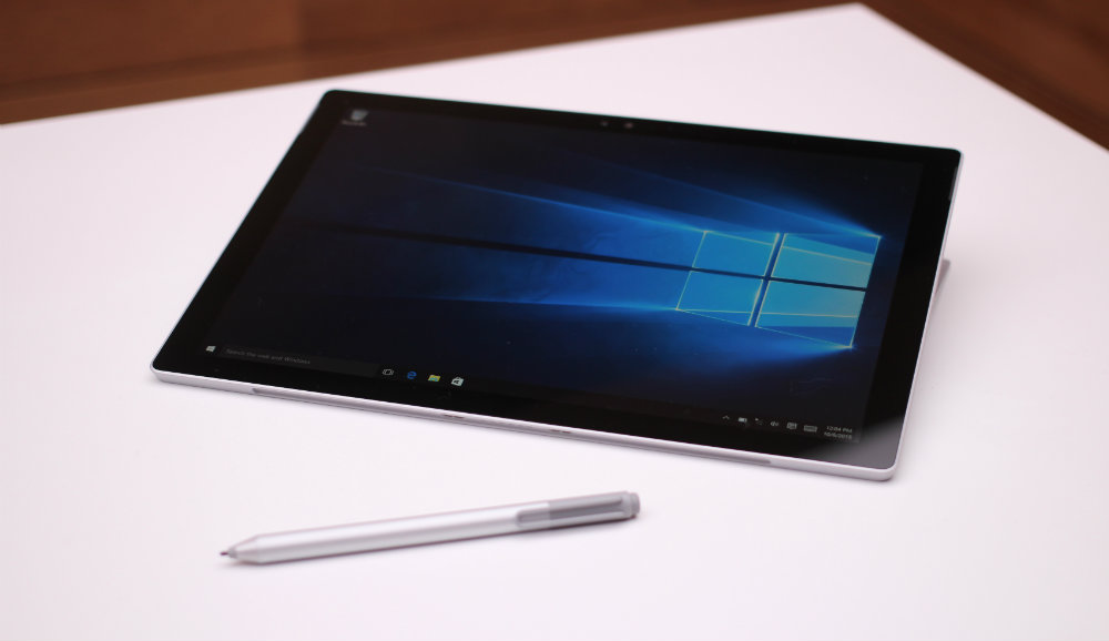 Surface Pro 4 не имеет кнопки Windows