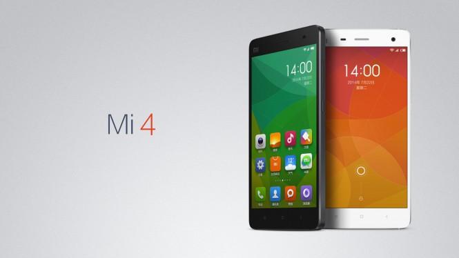 Флагманский смартфон Xiaomi Mi4 (18 500 рублей по данным Яндекс.Маркета)