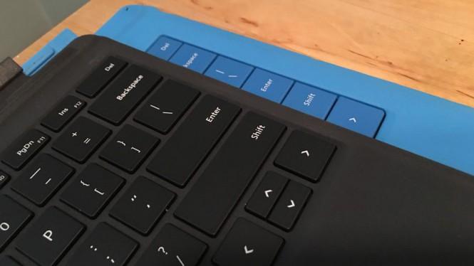 Новая клавиатура - сверху