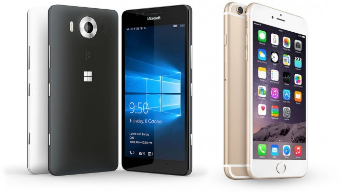 lumia-950-iphone-6-render
