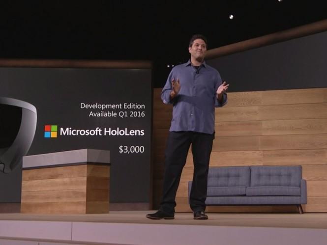 В I квартале 2016 года Microsoft выпустит набор для разработчика HoloLens за $3 000