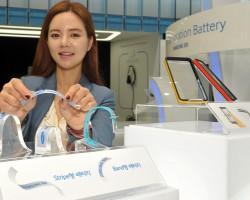Компания Samsung изобрела гибкие аккумуляторы для носимой электроники
