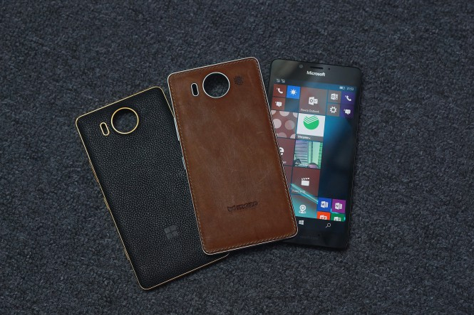 Lumia 950 и крышки Mozo