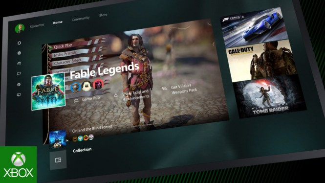 Microsoft выпустила обновление New Xbox One Experience Preview