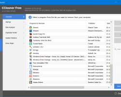 CCleaner научился удалять стандартные приложения Windows10