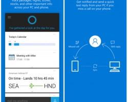 Ассистент Cortana появился наAndroid иiOS
