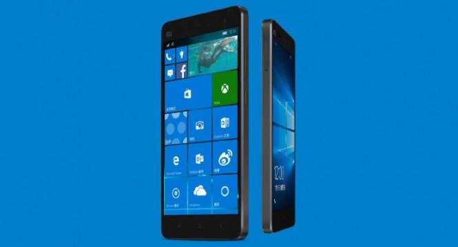 Смартфон Xiaomi Mi 4 с Windows 10 Mobile