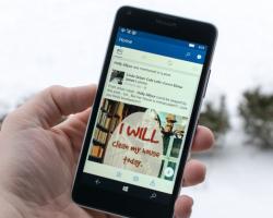 Facebook для Windows10 Mobile получил поддержку Continuum