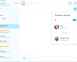 Переводчик в Skype стал доступен всем пользователям Windows