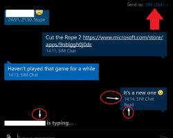 ВWindows10 Mobile появилось уведомление онаборе текста вSMS