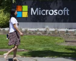 Финансовый отчёт Microsoft запрошедший квартал