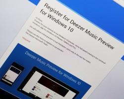 Deezer тестирует универсальное приложение для Windows 10иWindows10 Mobile