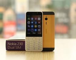 Во Вьетнаме появился телефон Nokia 230 с золотым корпусом