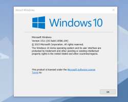 Выпущена Windows 10с номером сборки 10586.104