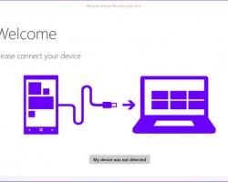 ВWindows Device Recovery Tool добавлена поддержка смартфона HPElitex3