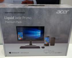 Acer будет продавать полный компьютерный комплект для Windows-смартфона Jade Primo
