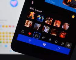 Вприложении Messaging + Skype появилась поддержка «моджи»