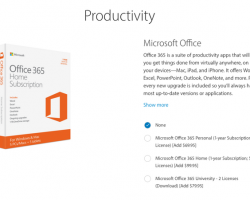 Apple продаёт Microsoft Office 365в качестве аксессуара кiPad Pro