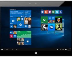 Всалонах «Мегафона» появится эксклюзивный Windows-планшет