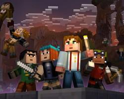 Для Minecraft временно бесплатно доступны скины Story Mode