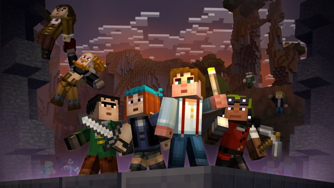 minecraft story mode pack
