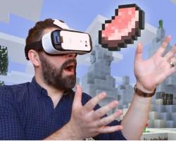 НаSamsung Gear VRпоявилась игра Minecraft VREdition