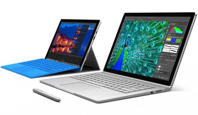 Surface Book, Surface Pro 4 и Surface Pro 3 получили обновление прошивки
