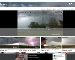 Приложение AccuWeather после обновления проигрывает видеозаписи о погоде