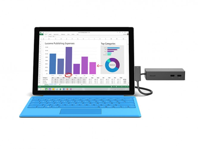 Microsoft выпустила инструмент для обновления Surface Dock