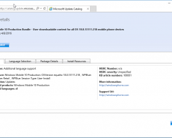 Насервере Microsoft замечена новая сборка Windows10 Mobile— 10586.218