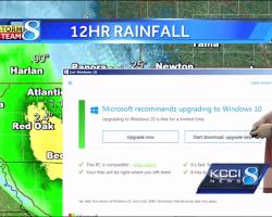 """Приложение """"Get Windows 10"""" прервало прогноз погоды"""