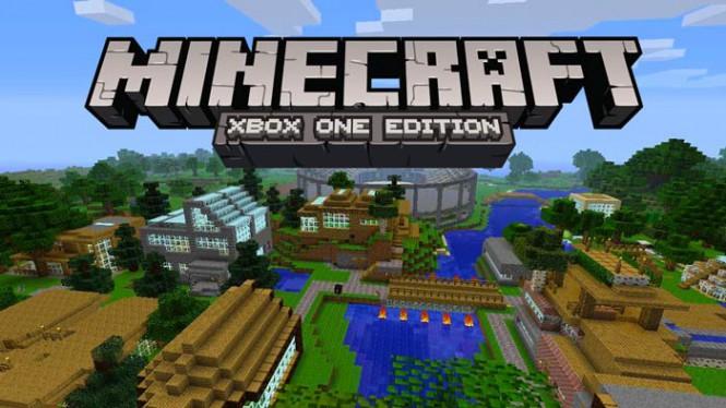Minecraft на Xbox