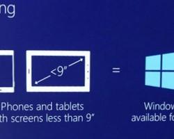 Впродаже могут появиться огромные смартфоны иминиатюрные планшеты наWindows10