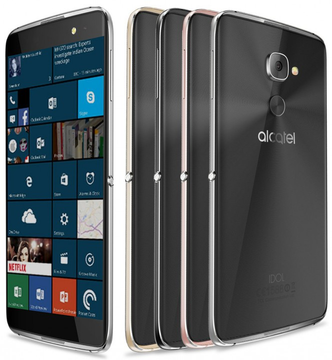 Флагман на Windows 10 Mobile от Alcatel засветился на официальном документе