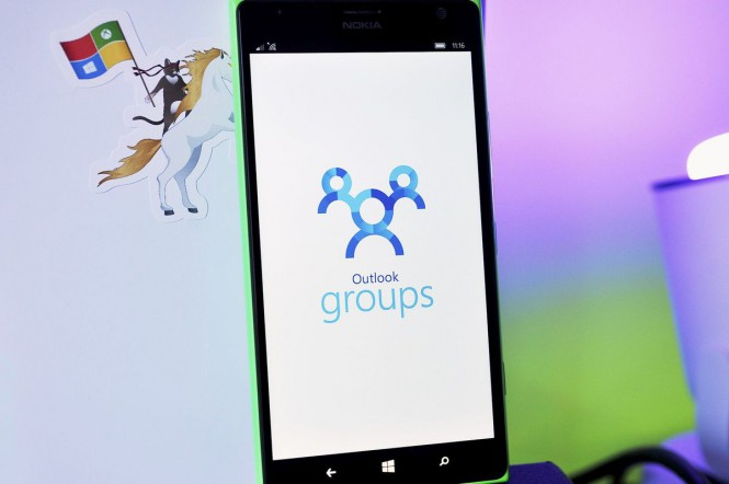Microsoft обновила Outlook Group для Windows Phone