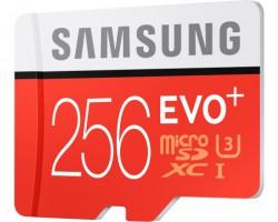 Samsung представил 256-гигабайтную карту памяти срекордной скоростью записи