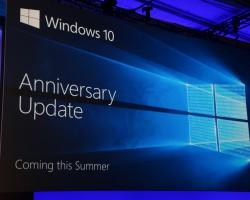 Официально: Windows10 Anniversary Update будет выпущен второго августа
