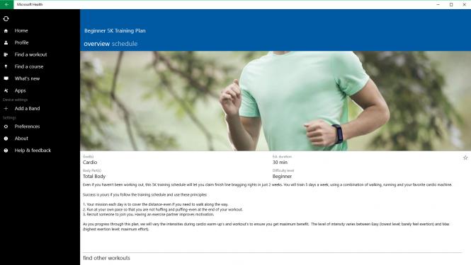 Приложение Microsoft Health появилось в Windows Store для ПК
