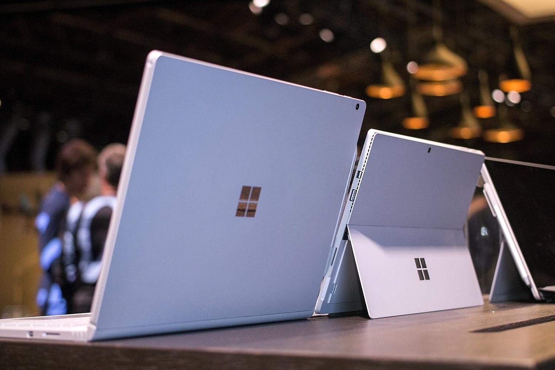 Microsoft обновила драйверы Surface Book и Surface Pro 4