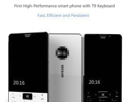 Подробности о клавиатурном Windows-смартфоне Keyever K1
