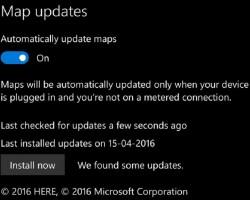 Карты HERE для Windows10 Mobile получили обновление