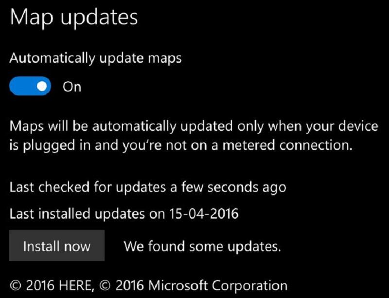map-updates