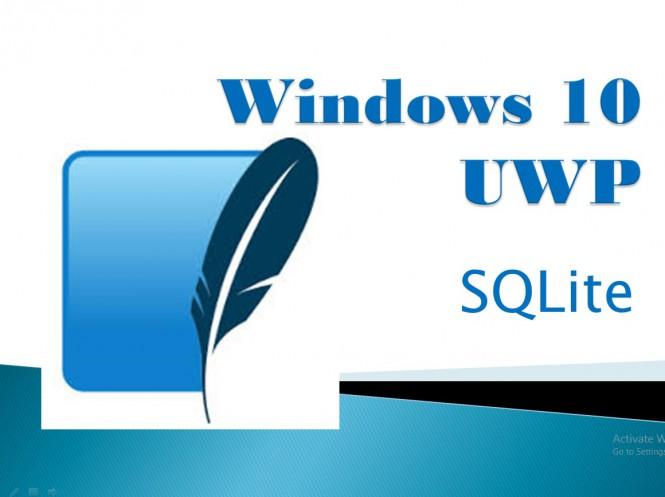 Приложения для Windows 10 получат поддержку SQLite