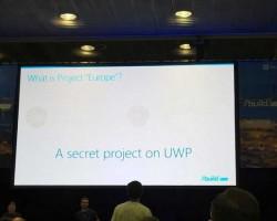 Project Europe— секретный проект для универсальной платформы Windows10