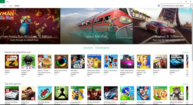 Microsoft обновляет Windows Store для корпоративных и домашних пользователей