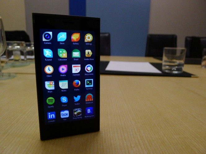 Sailfish Mobile OS RUS