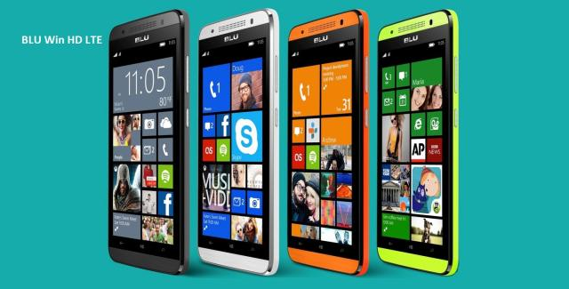 Смартфоны BLU скоро обновятся до Windows 10 Mobile