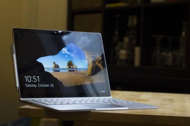 Surface Book, Surface Pro 4 и Surface 3 получили обновление прошивки