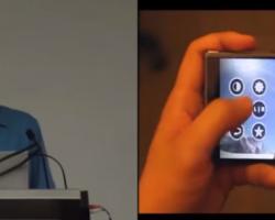Демонстрация технологии Pre-Touch напримере невыпущенного смартфона Nokia McLaren